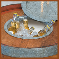 Barrels - image Esky-Barrel-with-Drinks on http://tradewarebuildingsupplies.com
