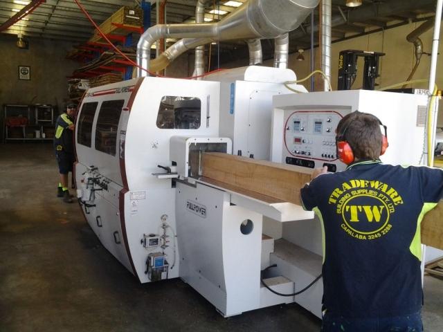 Planer Feed - TRADEWARE Building Supplies, Brisbane's Best Quality Timber & Hardwood, Pine, Merbau, Kwila, Decking, Flooring, Fencing & Landscaping materials.