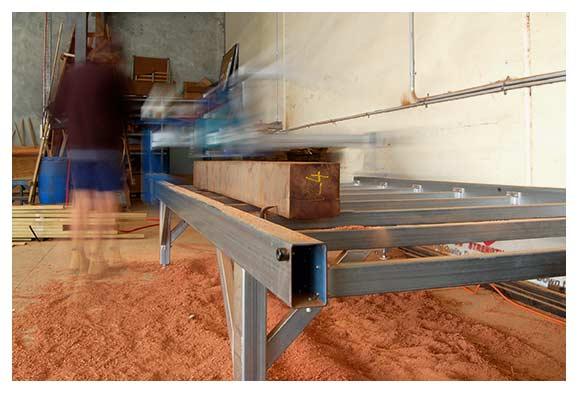 Custom Timber Machining & Processing - image SlabMaster on http://tradewarebuildingsupplies.com