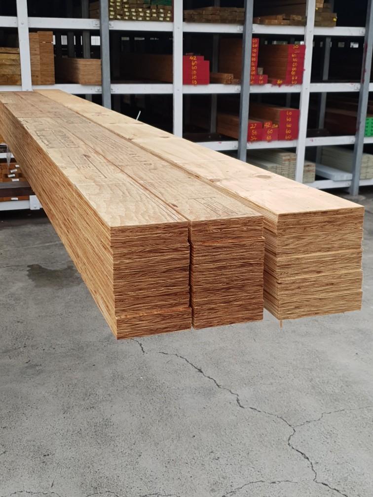 Laminated Veneer Lumber available from Tradeware Building Supplies, Brisbane