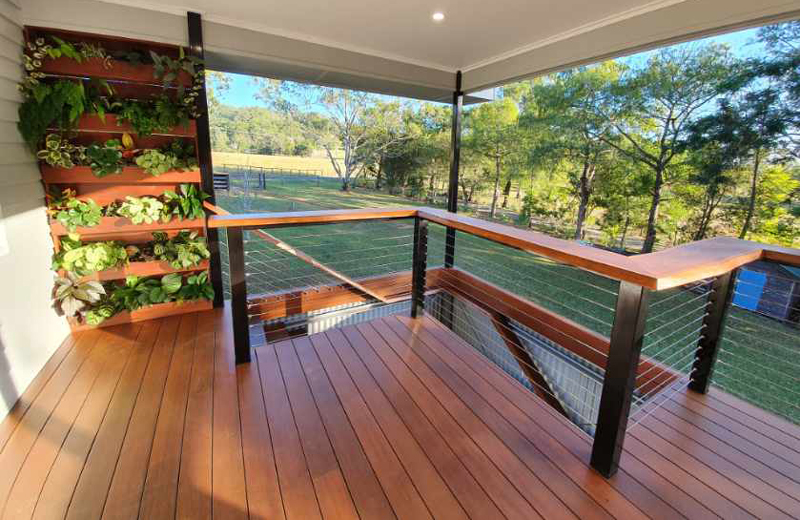 Hardwood Timbers including Pacific Jarrah and Bluegum available from Tradeware Building Supplies, Chandler, Brisbane