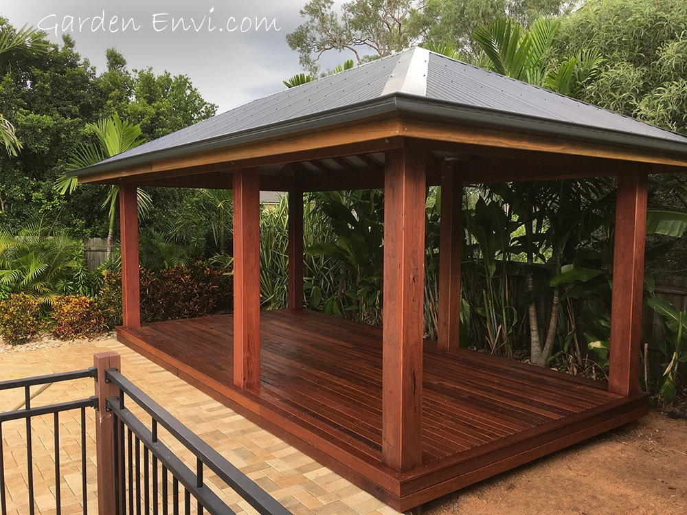 Merbau Decking and Posts available from Tradeware Building Supplies, Brisbane
