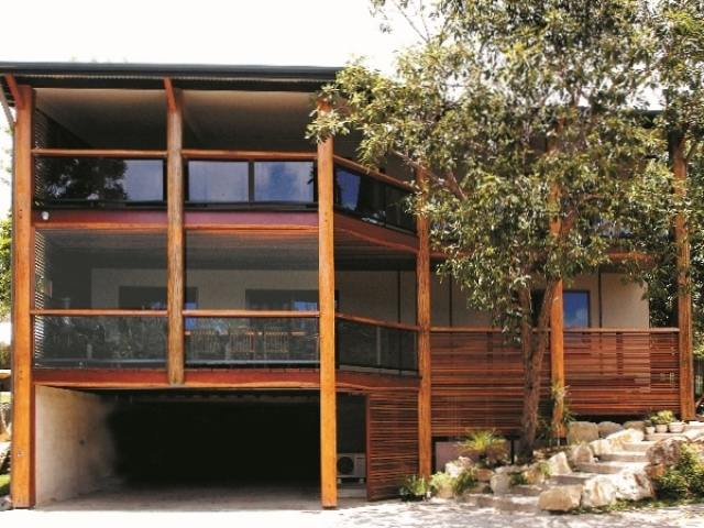 Beautiful house featuring timber supplied by Tradeware Building Supplies, Chandler, Brisbane