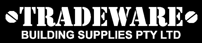 Tradeware Building Supplies PTY LTD White Transparent bg Logo