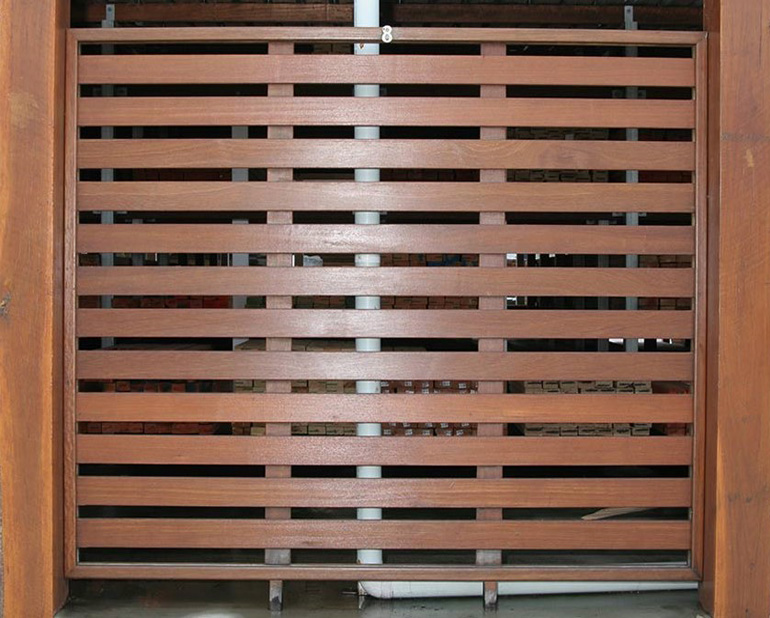 Timber screening available from Tradeware Building Supplies, quality timber suppliers, Brisbane