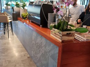 Natural Timber Slabs for Kitchen Counters
