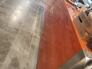 Hutchinson Builders Kitchen Counter Front Look