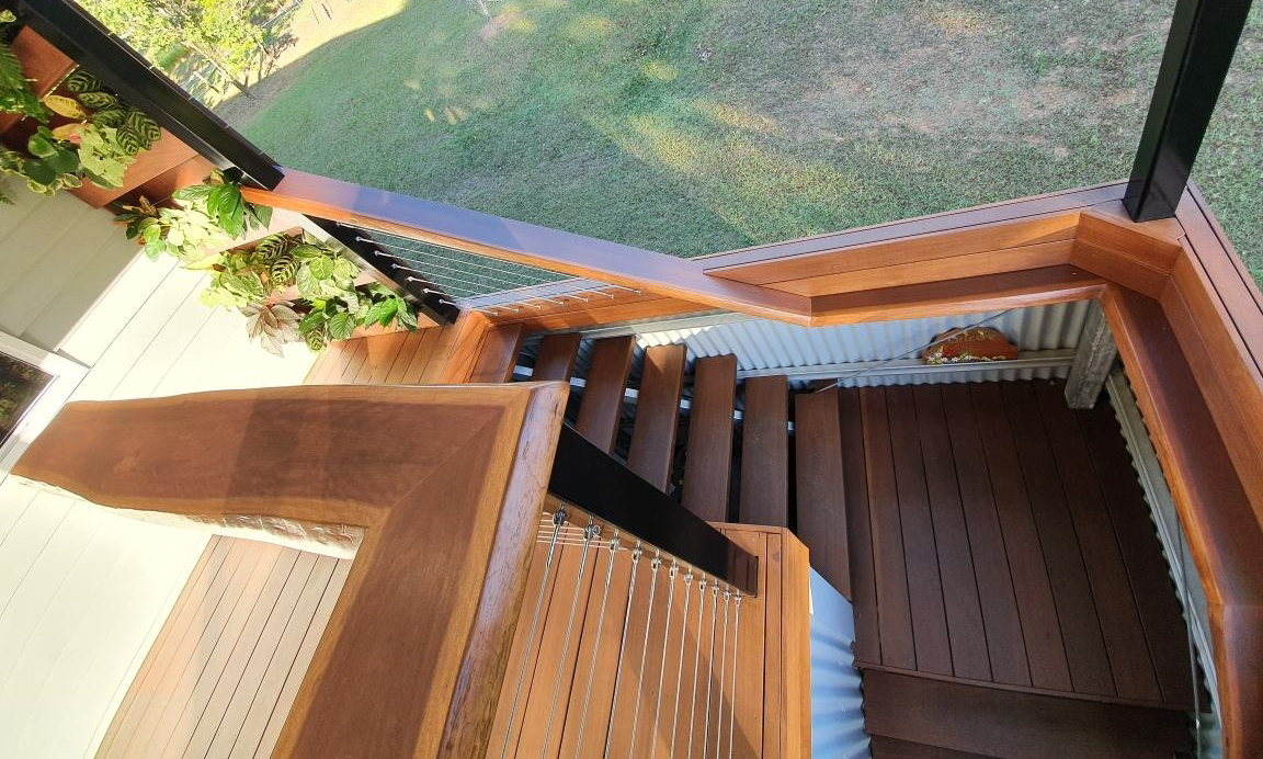 Pacific Jarrah Timber Decking