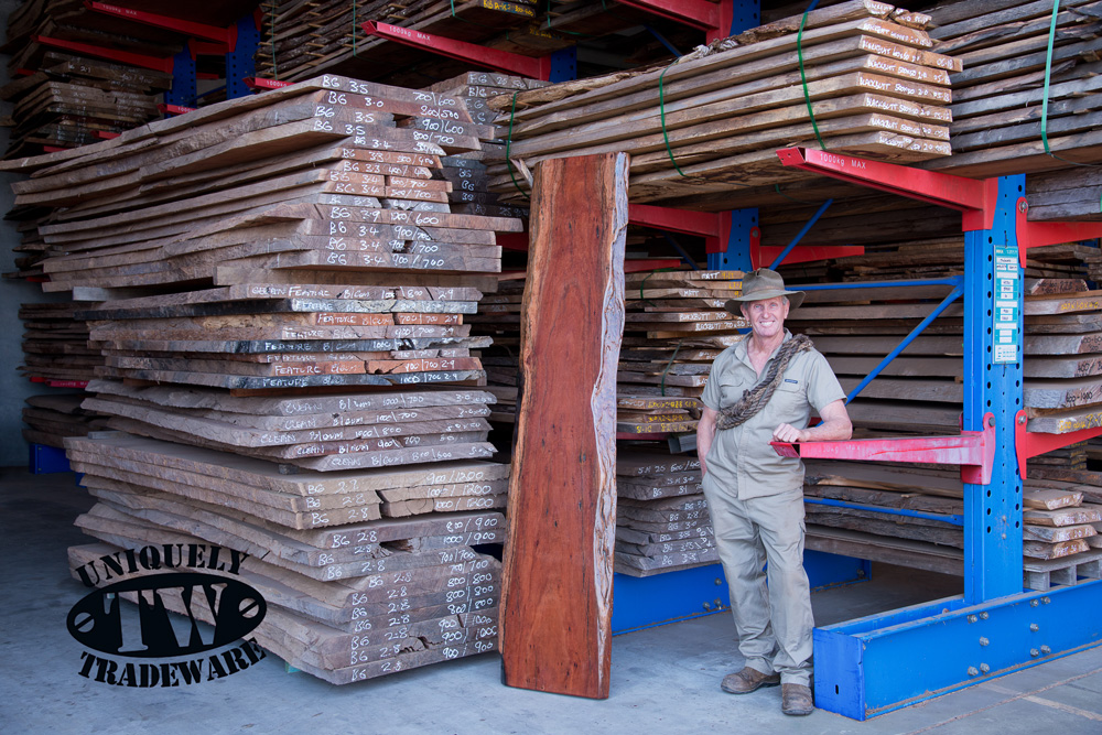 Blue Gum Timber Slabs - TRADEWARE Building Supplies