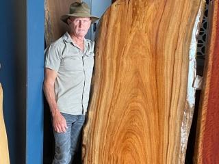 Timber Slabs - image Camphor-Laurel-1900-long-x-approx-900-wide-768x1024-320x240_c on https://tradewarebuildingsupplies.com