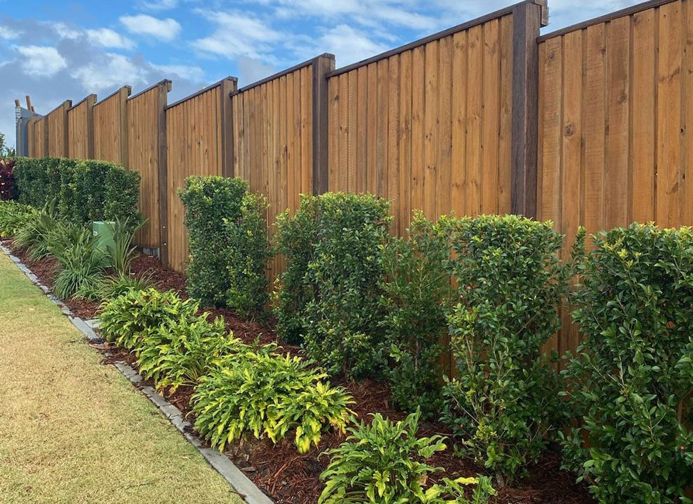 Treated Pine Fence in Heritage Style. All timber available from TRADEWARE Building Supplies, Chandler, Brisbane