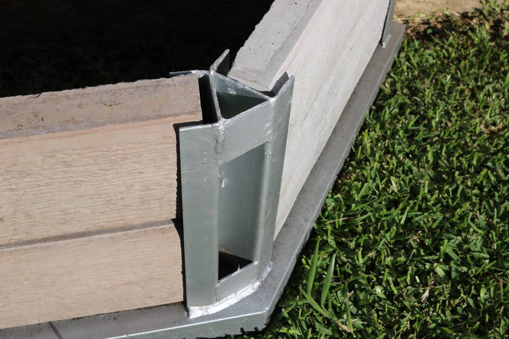 Real-Lite Concrete Sleepers - image 45-Degree-Corner-for-Concrete-Sleepers_Tradeware-Building-Supplies-1024x682-1 on https://tradewarebuildingsupplies.com