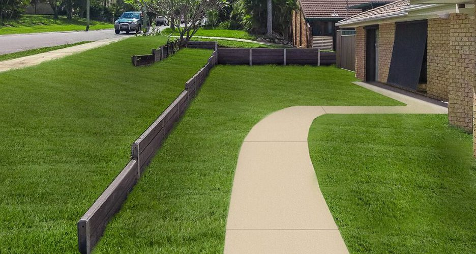 Concrete Sleepers by Real Lite are available from Tradeware Building Supplies suppliers of quality timber brisbane
